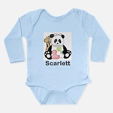 Hannah's Little Panda Long Sleeve Infant Bodysuit