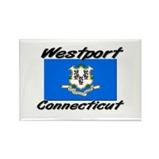 Westport Connecticut Rectangle Magnet
