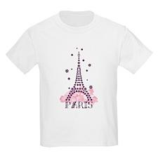 Flower Eiffel 01 T-Shirt