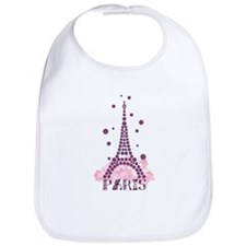 Flower Eiffel 01 Bib
