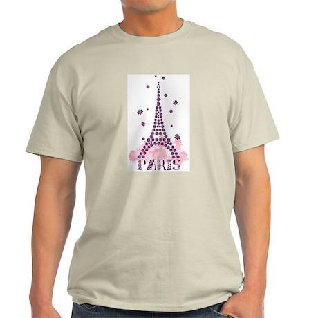 Flower Eiffel 01 Light T-Shirt