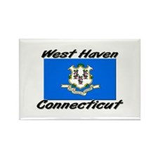 West Haven Connecticut Rectangle Magnet
