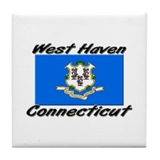 West Haven Connecticut Tile Coaster