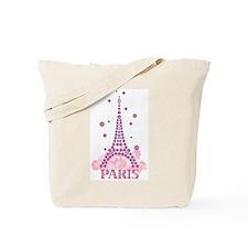 Flower Eiffel 03 Tote Bag