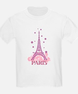 Flower Eiffel 03 T-Shirt