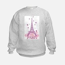 Flower Eiffel 03 Sweatshirt