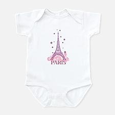 Flower Eiffel 03 Infant Bodysuit