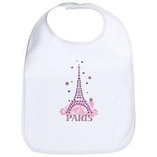 Flower Eiffel 03 Bib