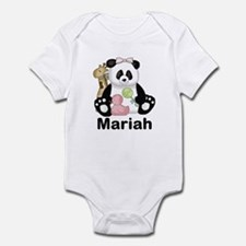 Mariah's Little Panda Infant Bodysuit
