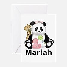 Mariah's Little Panda Greeting Cards (Pk of 20)