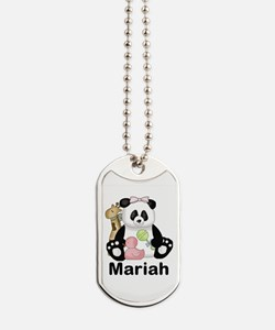 Mariah's Little Panda Dog Tags
