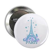 Flower Eiffel 04 Button