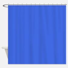 Plain Royal Blue Shower Curtains Plain Royal Blue Fabric Shower