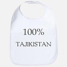 100% Tajikistan Bib