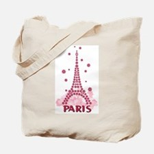 Flower Eiffel 05 Tote Bag