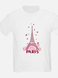 Flower Eiffel 05 T-Shirt