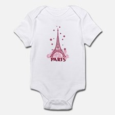 Flower Eiffel 05 Infant Bodysuit