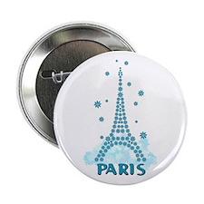 Flower Eiffel 06 Button