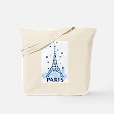 Flower Eiffel 08 Tote Bag