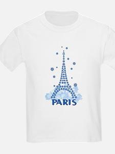 Flower Eiffel 08 T-Shirt