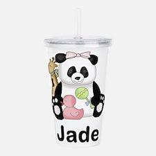 Jade's Little Panda Acrylic Double-wall Tumbler