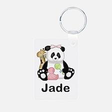 Jade's Little Panda Keychains