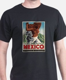 Vintage poster - Mexico T-Shirt