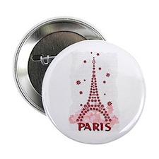 Flower Eiffel 10 Button