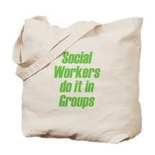 Social Workers Tote Bag