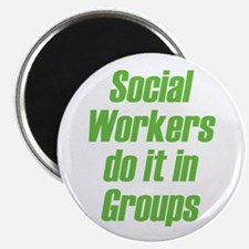 "Social Workers 2.25"" Magnet (10 pack)"