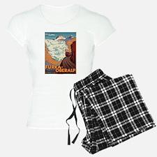 Vintage poster - Switzerlan Pajamas
