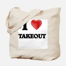 I love Takeout Tote Bag