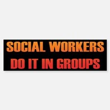 Social Workers Bumper Bumper Stickers
