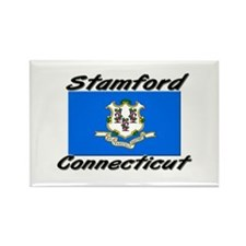 Stamford Connecticut Rectangle Magnet