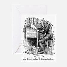 Old Scrooge Greeting Cards (Pk of 20)