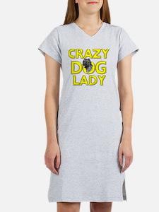 Cute Westie scottie Women's Nightshirt