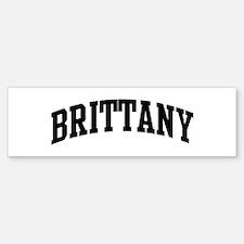 BRITTANY (curve) Bumper Bumper Stickers