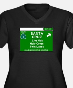 HIGHWAY 1 SIGN - CALIFORNIA - SA Plus Size T-Shirt