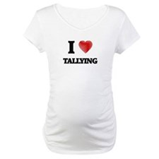 I love Tallying Shirt