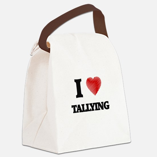 I love Tallying Canvas Lunch Bag