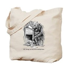 Old Scrooge Tote Bag