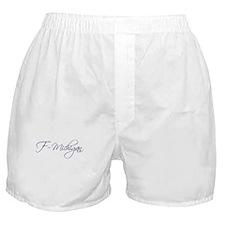 F-Michigan Boxer Shorts