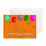 Happy occupational therapy month Greeting Cards (20 Pack)