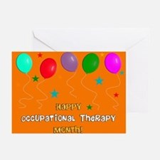 Occupational Therapy Month Greeting Cards