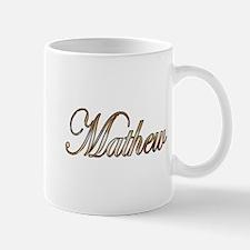 Gold Mathew Mugs