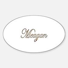 Cute Meagan Sticker (Oval)
