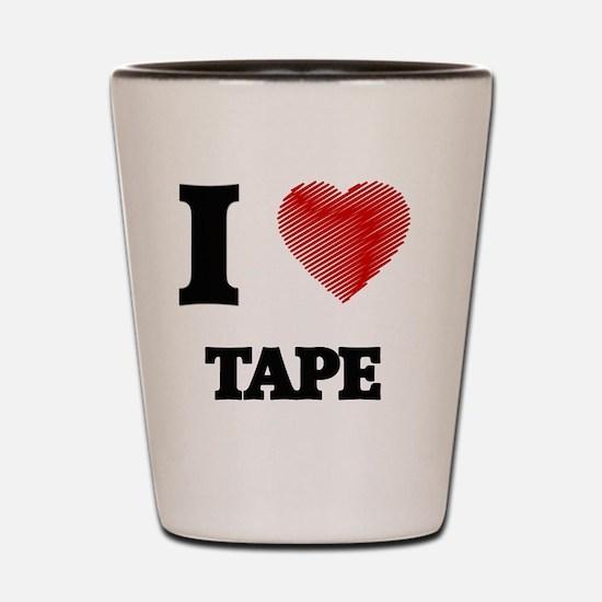 Cute Tape Shot Glass