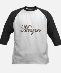 Gold Meagan Baseball Jersey