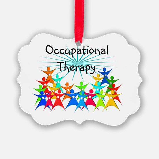 Cute Occupational therapist Ornament
