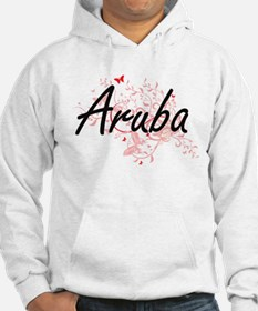 Aruba Artistic Design with Butte Hoodie